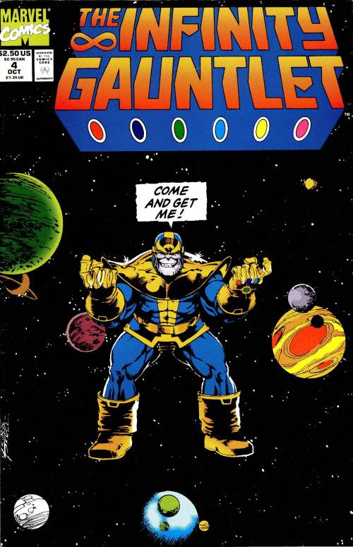 The Infinity Gauntlet Issue 4 Marvel Comics