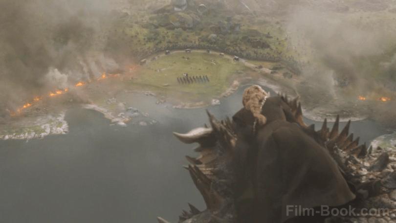 Emilia Clarke Riding Dragon Game of Thrones The Spoils of War