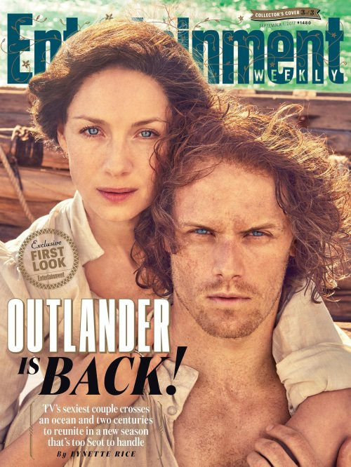 Outlander: Season 3 Cover Entertainment Weekly September 1, 2017