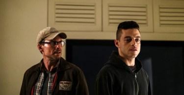 Rami Malek Christian Slater Mr. Robot