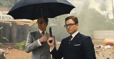 Taron Egerton Colin Firth Kingsman: The Golden Circle