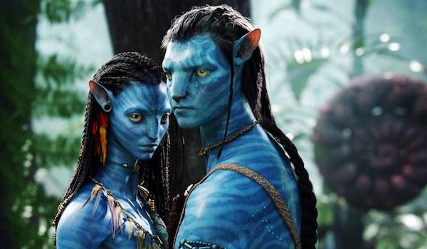 Sam Worthington Zoe Saldana Avatar