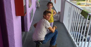 Willem Dafoe Brooklynn Prince The Florida Project