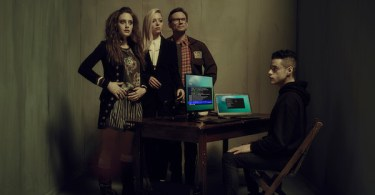 Carly Chaikin Portia Doubleday Christian Slater Rami Malek Mr Robot