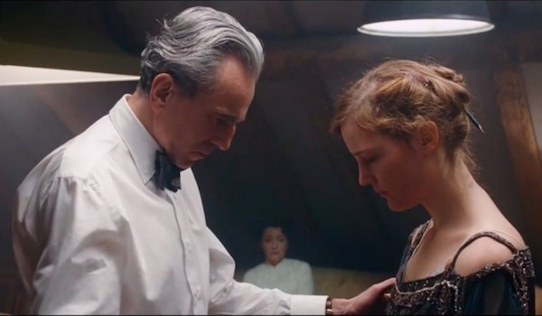 Movie Trailers: THUMPER, QUEST, Daniel Day-Lewis sews a PHANTOM THREAD, & More