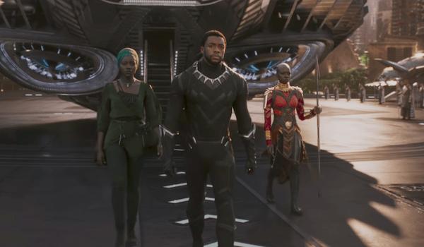 Lupita Nyong'o Chadwick Boseman Danai Gurira Black Panther