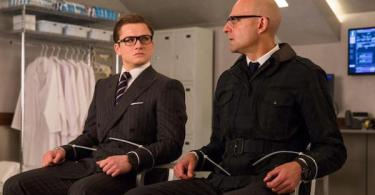 Taron Egerton Mark Strong Kingsman: The Golden Circle
