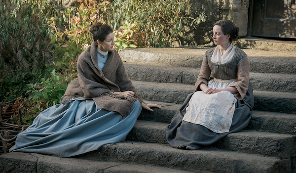 Caitriona Balfe Laura Donnelly Outlander First Wife