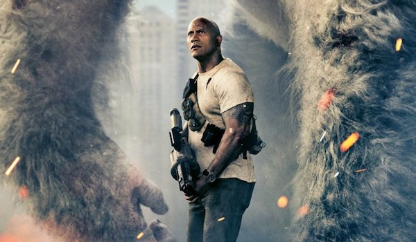 Dwayne Johnson Rampage Movie Poster