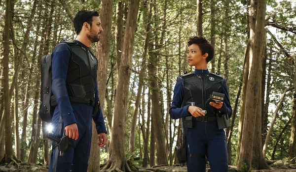 Shazam Latif Sonequa Martin Green Star Trek Discovery