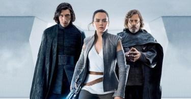 Adam Driver Daisy Ridley Mark Hamill Star Wars: The Last Jedi