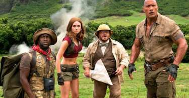 Jack Black Kevin Hart Dwayne Johnson Karen Gillan Jumanji: Welcome to the Jungle