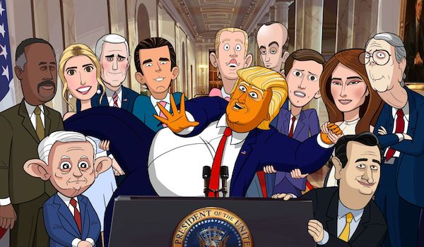 The First Trailer For Stephen Colbert's 'Our Cartoon President' Has Finally Arrived