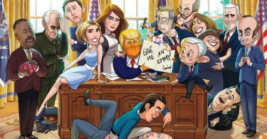 Our Cartoon President TV Show Poster