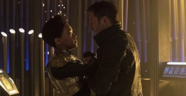 Sonequa Martin Green Jason Isaacs Star Trek Discovery