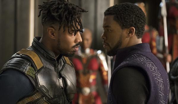 Chadwick Boseman Michael B. Jordan Black Panther
