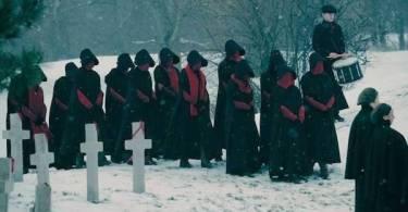 Black and Red Handmaids The Handmaids Tale Season 2