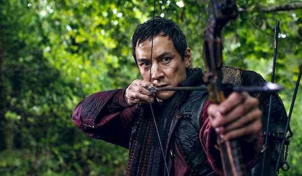 Daniel Wu Bow Arrow Into the Badlands Season 3