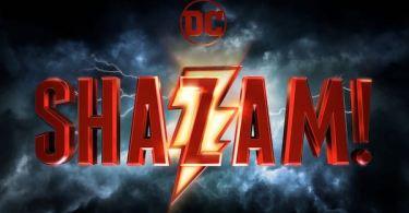 Shazam Logo Movie Poster