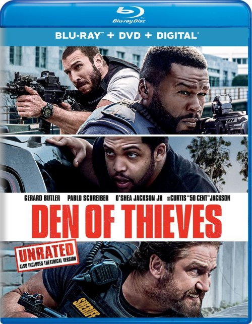 Den of Thieves Blu-ray Cover