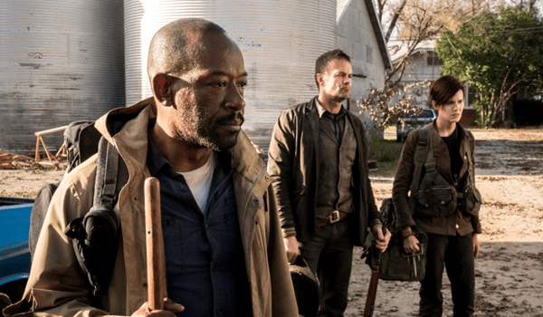 Lennie James Garret Dillahunt Maggie Grace Fear the Walking Dead What's Your Story