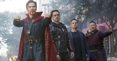 Benedict Cumberbatch Robert Downey Jr Mark Ruffalo Benedict Wong Avengers: Infinity War