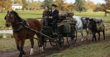 Caitriona Balfe Sam Heughan Outlander Season 4