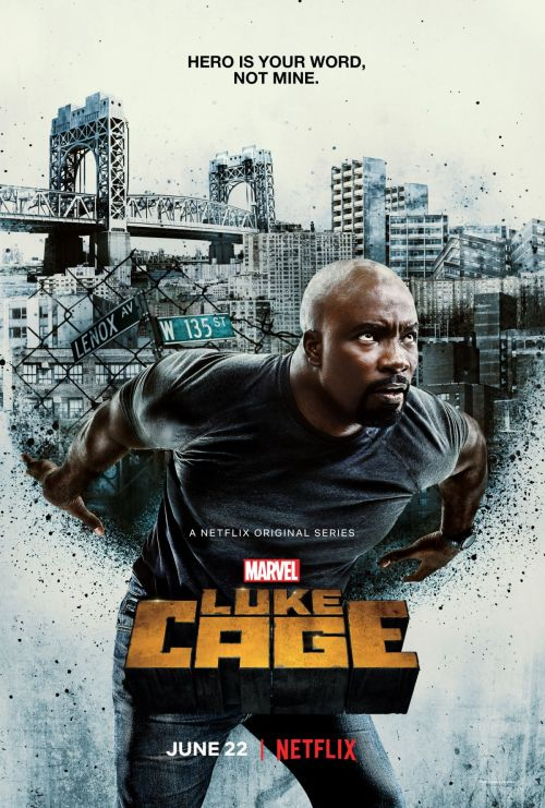 Luke Cage Season Vertical Atlas TV Show Poster