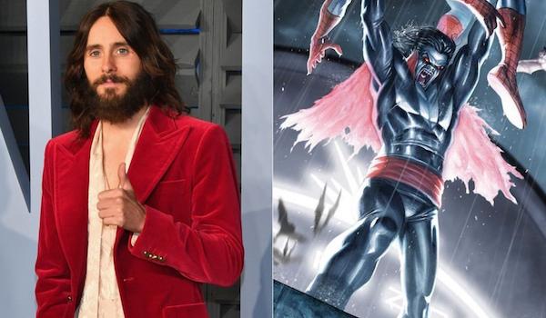 Jared Leto Morbius Spider-man Comic Book
