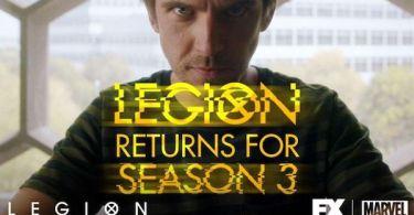 Legion Season 3 Renewal Advertisement
