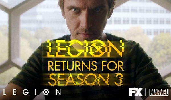 LEGION: Marvel TV Series Renewed for Season 3 by FX | FilmBook