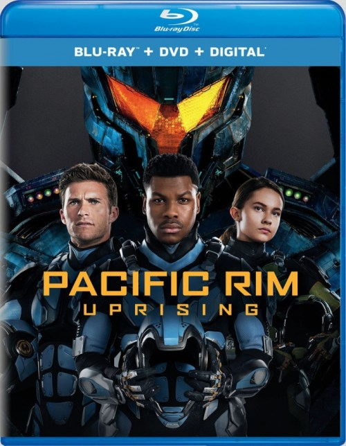 Pacific Rim: Uprising Blu-ray Cover