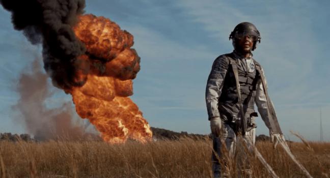 Ryan Gosling Crashing Landing First Man