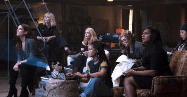Sandra Bullock Cate Blanchett Sarah Paulson Helena Bonham Carter Rihanna Mindy Kaling Oceans 8