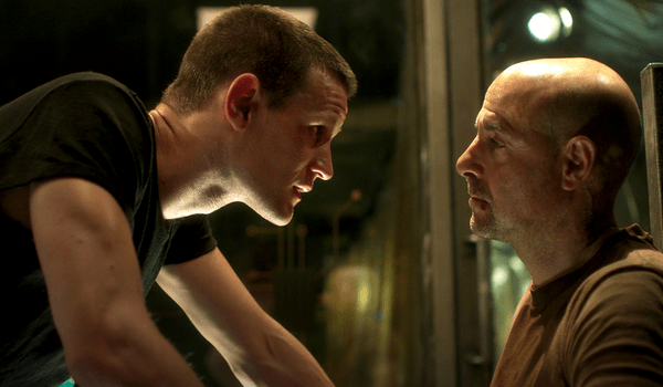 Matt Smith Stanley Tucci Patient Zero