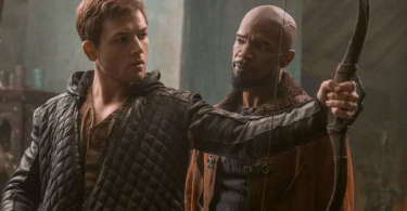 Taron Egerton Jamie Foxx Robin Hood