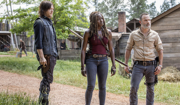 Andrew Lincoln Lauren Cohan Norman Reedus The Walking Dead Season 9