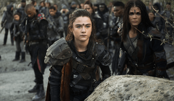 Lola Flanery Marie Avgeropoulos The 100 Damocles Part 2