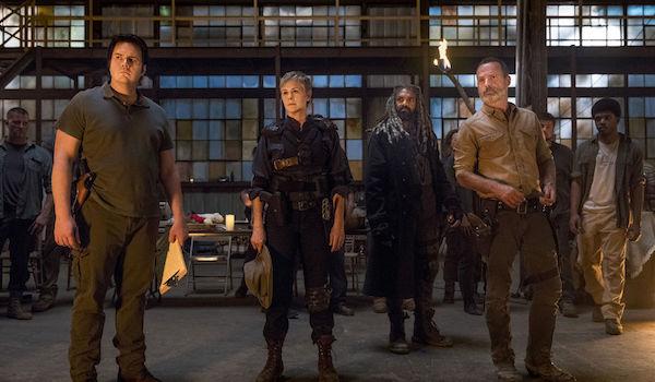 Josh McDermitt Andrew Lincoln Khary Payton Melissa McBride The Walking Dead Season 9