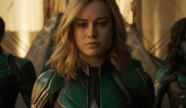 CAPTAIN MARVEL (2019) Movie Trailer: Brie Larson Returns to Earth a Member of Starforce