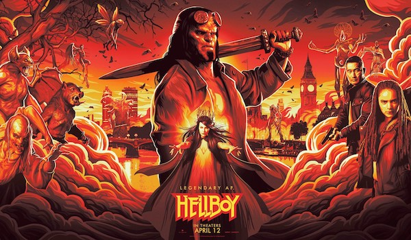 Hellboy 2018 NYCC Specialty Banner Poster