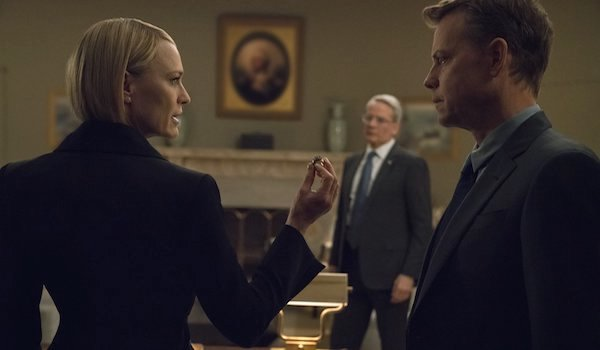 Robin Wright Campbell Scott Greg Kinnear House of Cards