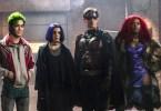 Brenton Thwaites Anna Diop Teagan Croft Ryan Potter Titans