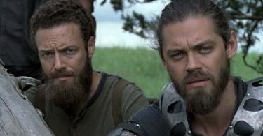 Ross Marquand Tom Payne The Walking Dead Season 9