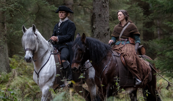 Sam Heughan Caitriona Balfe Outlander The False Bride