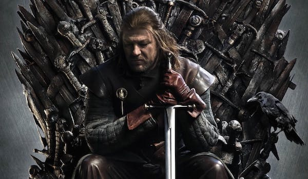 Sean Bean The Iron Throne Game of Thrones