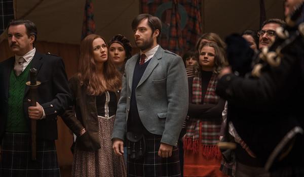 Sophie Skelton Richard Rankin Outlander The False Bride