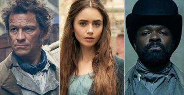Dominic West David Oyelowo Lily Collins Les Miserables