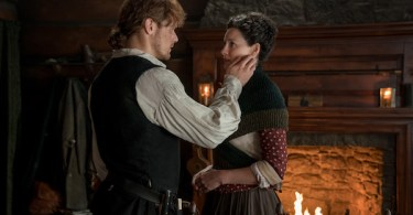 Sam Heughan Caitriona Balfe Outlander Savages