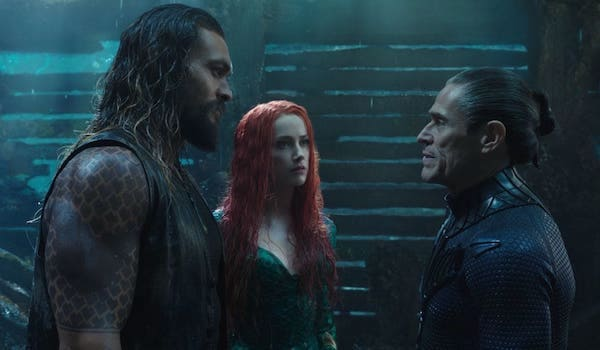 Jason Momoa Amber Heard Willem Dafoe Aquaman